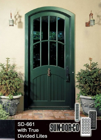 Sun dor co Dark green front door paint